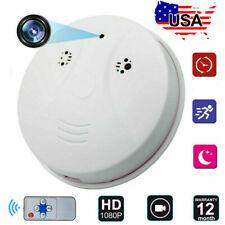 Mini HD 1080P SPY Camera Hidden Smoke Detector Motion Detection Nanny Cam DVR