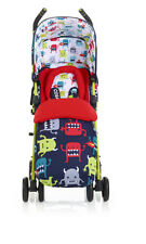 Cosatto Cuddle Monster 2 Supa Pushchairs Double Seat Stroller