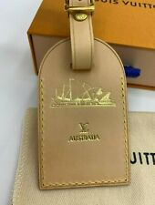 Authentic Louis Vuitton Luggage Tag from Sydney, Australia