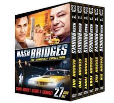 NASH BRIDGES : THE COMPLETE SERIES SEASON 1/2/3/4/5/6 NEW SEALED DVD-BOX-SET