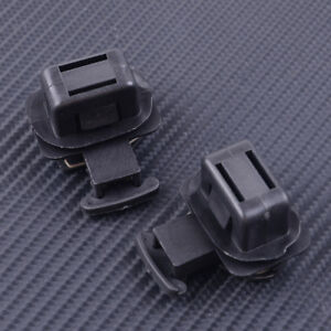 2pcs Rear Seat Cushion Pad Clip Fit For Honda Accord Crosstour 82137-SDA-003