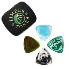 Resin Tones Gypsy Tin of 4 Guitar Picks ( Guitar Gift by Timber Tones )