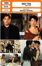 FICHE CINEMA : ONLY YOU - Tomei,Downey Jr,De Almeida,Zane,Jewison 1994