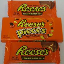 American Candy Assortment- Reese's Pieces and Cups Lot  BN