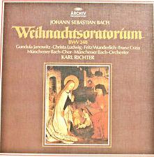 J.S.BACH WEIHNACHTSORATORIUM KARL RICHTER ARCHIV PRODUKTION  [c930]