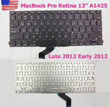 "NEW US KEYBOARD For Apple MacBook Pro Retina 13"" A1425 Late 2012 Early 2013"