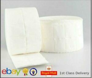 100 - 1000 Lint Free Nail Wipes Makeup Polish Remover Cleaner Wipe Cotton Pads