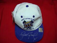 BRETT FAVRE AUTOGRAPHED 1997 SUPER BOWL XXXI CAP / HAT **AWESOME**