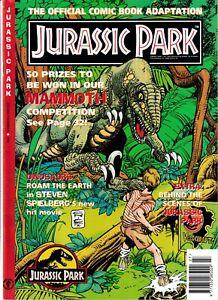 Dark Horse Comics - Jurassic Park - Vol 1 #1 - 1993