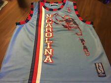 NCAA N. CAROLINA #23 UNIQUE SCREENPRINTED BASKETBALL JERSEY BY VEEZO MEN'S XL