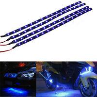 4Pcs LED Fußraumbeleuchtung Blau 30cm LED SMD für VW Golf 4 NEU