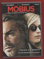 DVD - Mobius con Jean Dujardin, Cecile de France Et Tim Roth