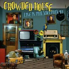 CROWDED HOUSE – LIVE IN PHILADELPHIA '87 (NEW/SEALED) CD Trocadero
