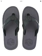"Urban Beach Mens ""Kaneohe"" Flip-Flop  Grey Sizes 6-11"