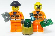 LEGO Breaking Bad Walter White Jessie Pinkman custom minifigure minifig