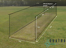 Cricket Practice Cage Net : 1-piece Cricket Training Cage Netting W/ Curtain