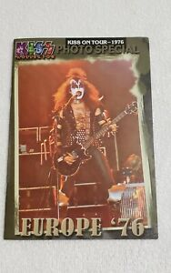 KISS On Tour Photo Special Europe 1976 Book
