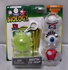 Basher Science Biology Set Skeleton, Eye & Heart Figures