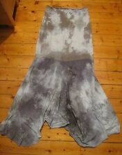 RAINTOWER tiedye maxi mermaid skirt recycled cotton NEW mori goth gypsy S/M