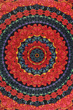 """3D BLOOMING BUTTERFLIES Psychedelic Tapestry/Wall Hanging 60""""x90"""" FREE GLASSES"""