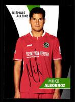 Miiko Albornoz Autogrammkarte Hannover 96 2015-16 Original Signiert+ A 137490