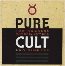 PURE CULT For Rockers Ravers Lovers & Sinners 2-CD/DVD Album Very Good Condition