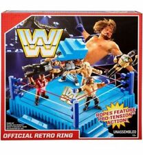 WWE Mattel Retro Figure Wrestling Ring