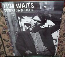 TOM WAITS Vintage Train Poster