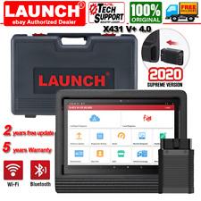 X431 V+ WIFI Bluetooth Full System OBD2 Scanner Diagnostic Tool ABS SAS TPMS Key