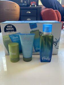 Candies Men 100 ml Eau De Cologne + Skin Soother + Deodorant VINTAGE GIFT SET