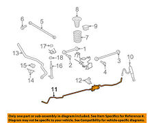 TOYOTA OEM Ride Control-Rear Suspension-Absorber Control Assembly 4856035040