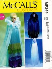 McCall's Misses'/Men's Costume Goth,Fairy,Vampire Cape Pattern MP244 S-XL UNCUT