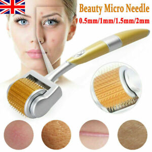 Luxury Titanium ZGTS-540 Micro Needle Skin Therapy Derma Roller Body Anti-ageing