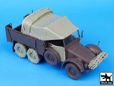 Black Dog 1/35 Krupp Protze German Truck WWII Accessories Set (Tamiya) T35075
