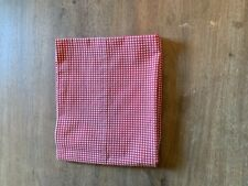 Vintage Ralph Lauren Red Gingham Standard Pillowcase