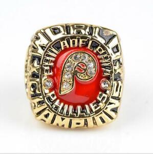 MLB 1980 Philadelphia Phillies Championship Ring Fan Memorial Gift