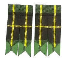 Scottish kilt Flashes Hunting Wallace Tartan/Hunting Wallace Tartan Kilt Flashes