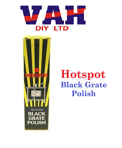 Hotspot Black Stove and Grate Polish 75ml Fireplace and Stove Cast Iron Polish