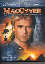 MacGyver - 5^ stagione - dvd - nuovo