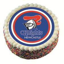 40288 NEWCASTLE KNIGHTS NRL TEAM EDIBLE IMAGE CAKE TOPPER BIRTHDAY PARTY
