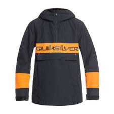 Quiksilver Steeze Youth Boys Jacket Snow - True Black All Sizes
