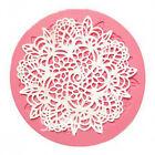 Lace Silicone Mold Mould Sugar Craft Fondant Mat Cake Decorating Baking liau