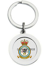 ROYAL AIR FORCE 1 SPECIALIST POLICE WING KEY RING (METAL)