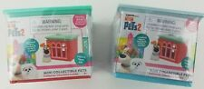 Lot of 2 Secret Life of Pets 2 Mini Collectible Figure Stackable Blind Apartment