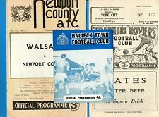 More details for season 1960/61 third division 24 programmes.-one for each club.  g/vg