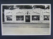 Arnolds Park Iowa IA Harrys Kurio Kastle Vintage Real Photo Postcard RPPC 1940s