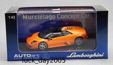 AUTOart LAMBORGHINI MURCIELAGO Concept Car Metallic Orange 1/43 Diecast Model