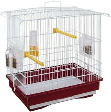 Ferplast Cage Canaries & Small Exotic Birds Complete w/Accessories & feeders