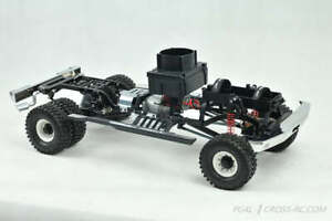 CrossRC CZRPG4L PG4L 1/10 4x4 metal gear 2-Speed Dually Pickup Truck Crawler Kit
