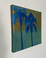 Shane Townley art painting originalCONTEMPORARY oil IMPRESSIONISM Palms Sunset